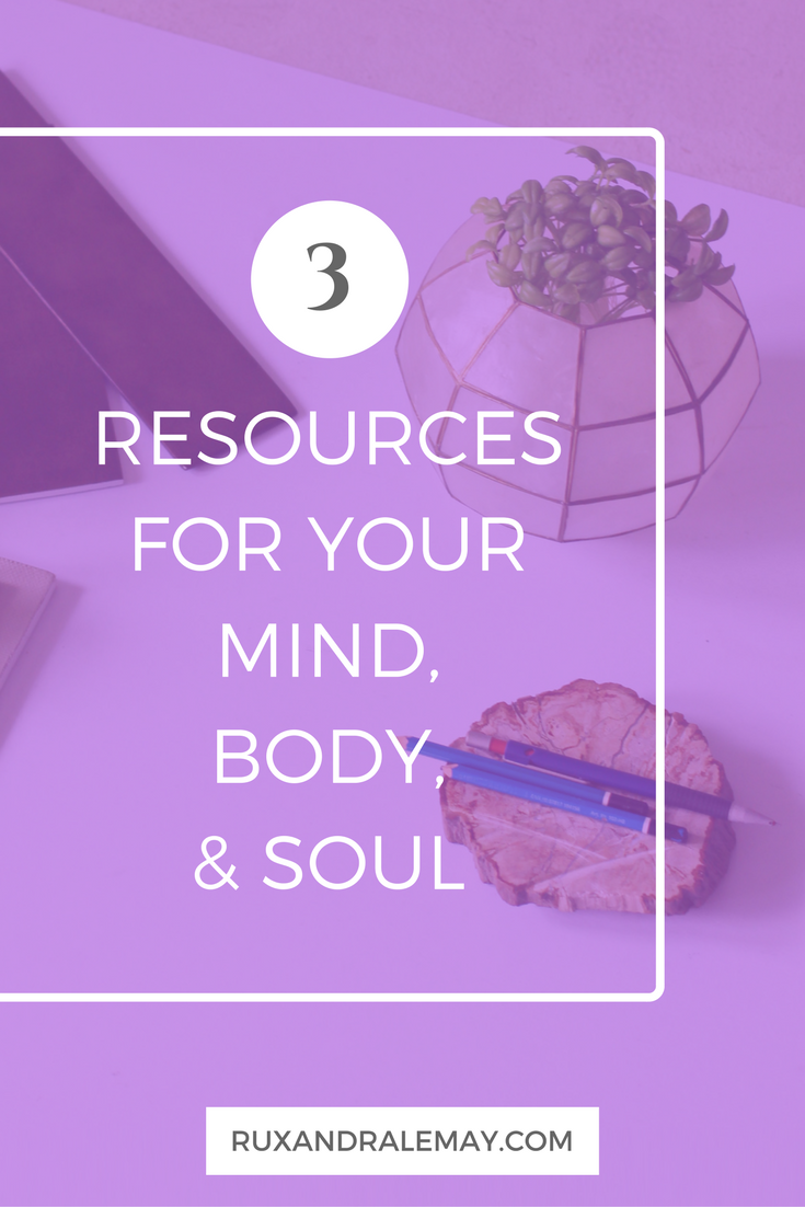 Are you looking for helpful tips to work on your mind, body, & soul? Each month I will be sharing and highlighting motivational resources that I have found beneficial to focus on your mind, body, and soul.