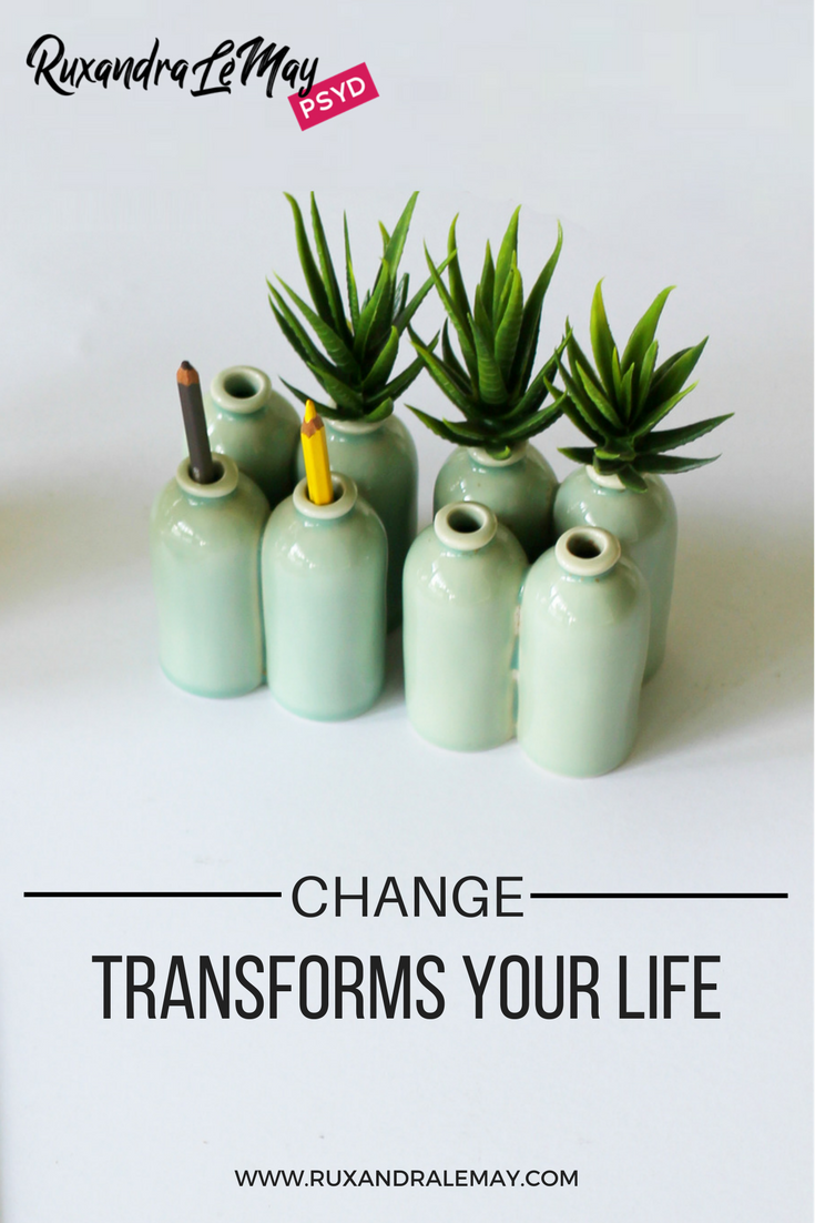 Are you looking for change in your life? You can take charge of your life and implement change. Change transforms you, one step at a time. Check out Heather's motivating story.