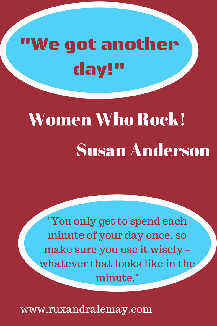 Quote by Susan Anderson