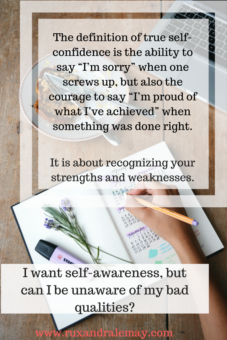 definition of self-confidence - ruxandra lemay