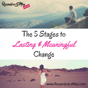 Lasting & Meaningful Change