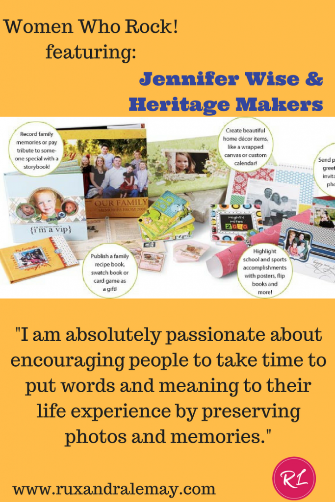 Jennifer Wise & Heritage Makers