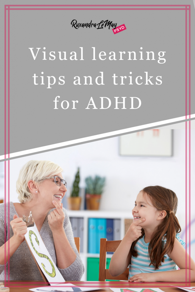 Visual learning tips and tricks for ADHD